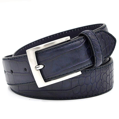 Image of Textured Faux Belt