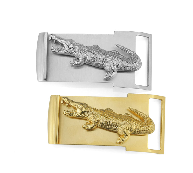 Fancy Crocodile Luxury Belt