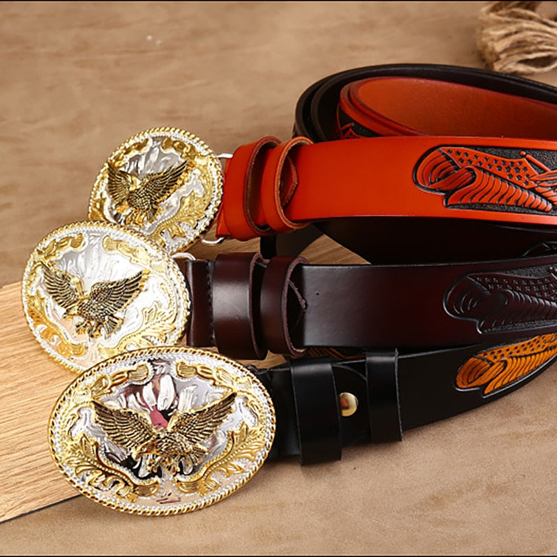 Gold Eagle Belt