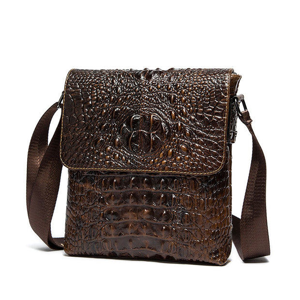 Genuine Leather Brand Shoulder Bags