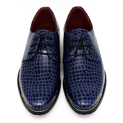 Image of Crocodile Pattern Shoes