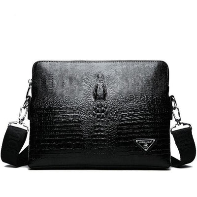 Classic Vintage Crocodile Leather Handbag