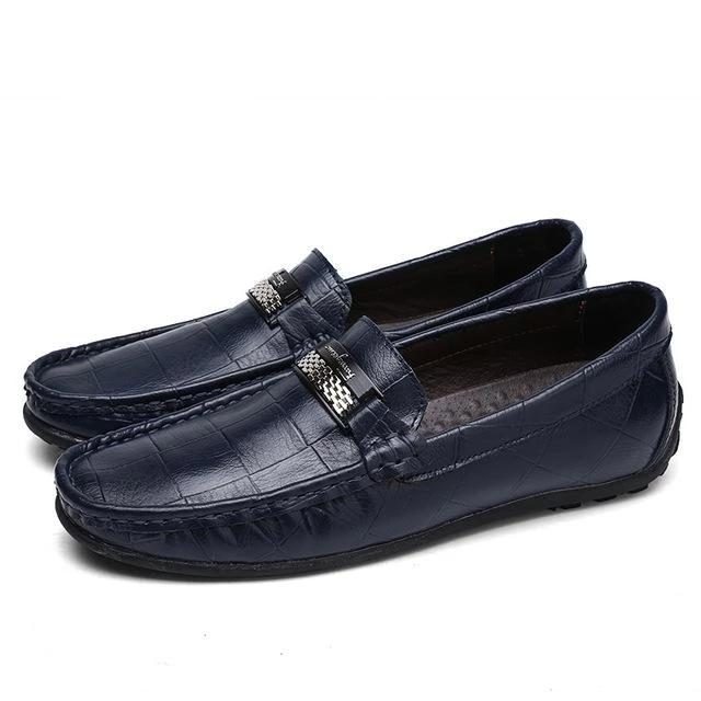 Casual Moccasins Leather Boat Loafers