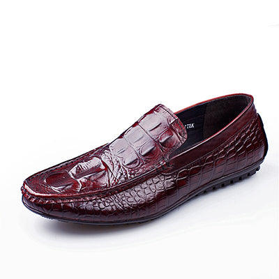 Alligator Print Penny Loafers