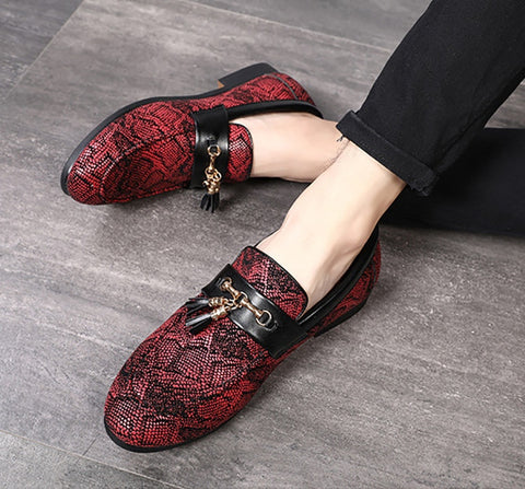 Fashionable PU Leather Loafers