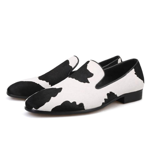 Black & White Exotic Shoes