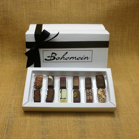 Box of 12 Bohemein Chocolates — Chocolatiers' Selection