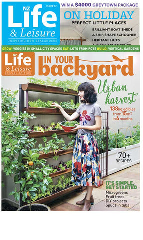 1 Year of NZ Life & Leisure plus In Your Backyard: Urban Harvest