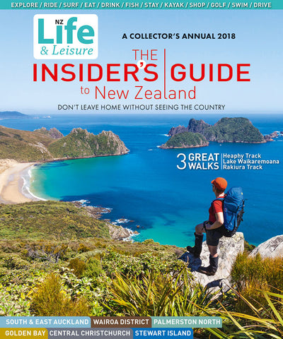 Pre Order: The Insider's Guide To New Zealand 2018