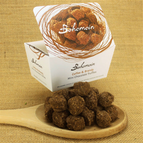 Bohemein Coffee & Brandy Mini Chocolate Truffles