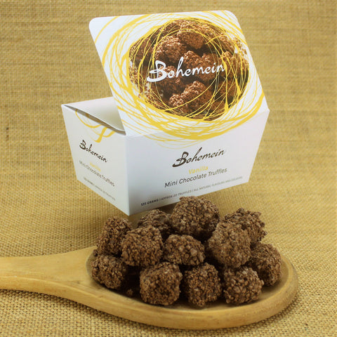 Bohemein Vanilla Mini Chocolate Truffles