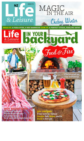 1 Year of NZ Life & Leisure plus In Your Backyard: Food & Fire