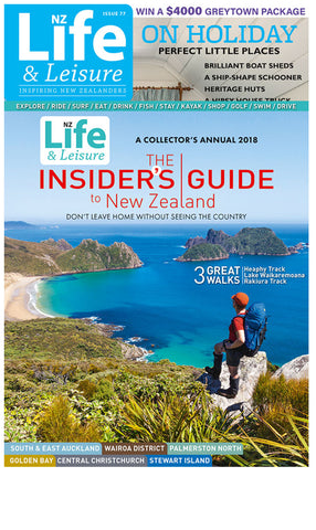 1 Year of NZ Life & Leisure plus The Insiders Guide to New Zealand 2018
