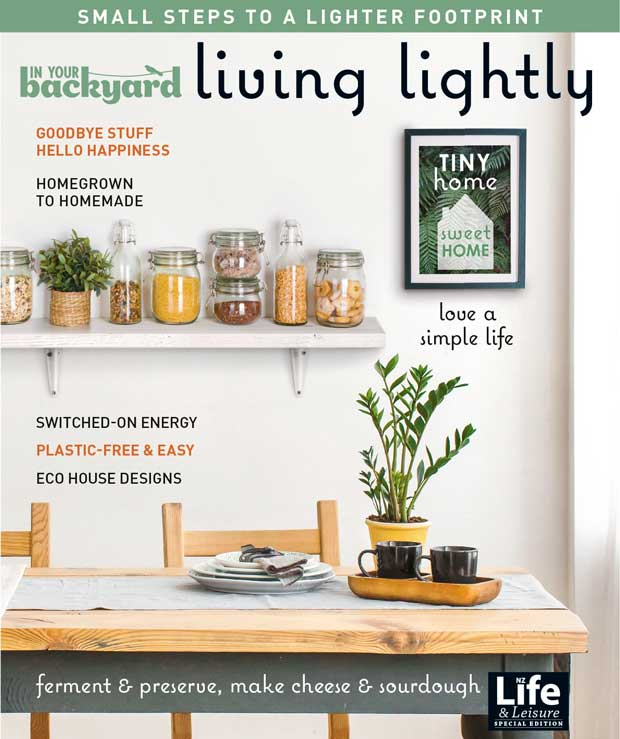 In Your Backyard: Living Lightly Magazine