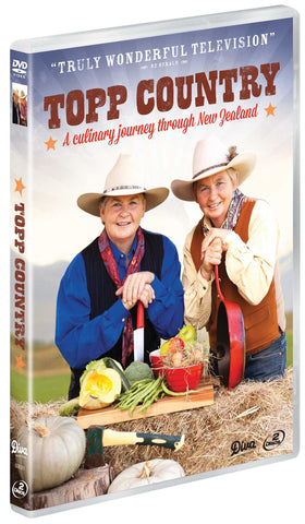 Topp Country DVD