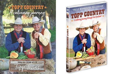 Topp Country DVD and book bundle