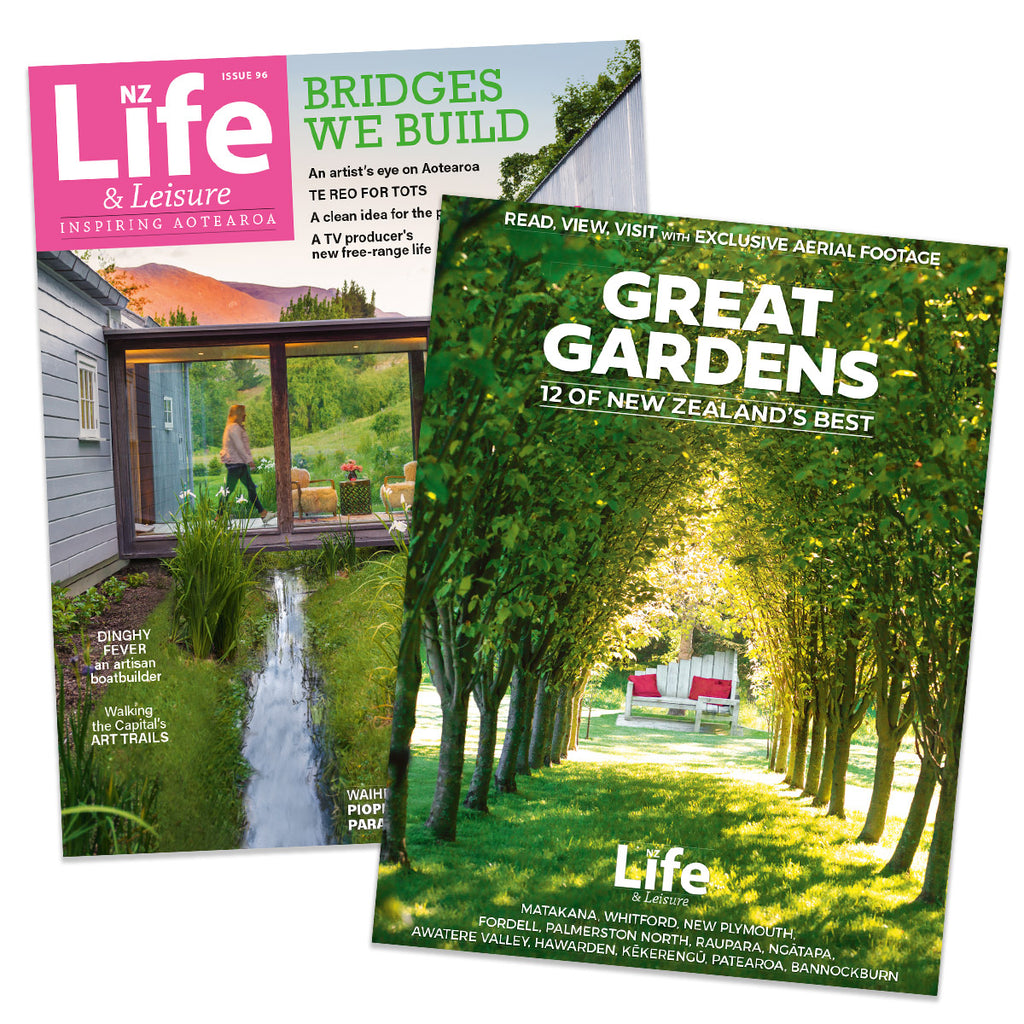 1 Year of NZ Life & Leisure plus Great Gardens: 12 of New Zealand's Best