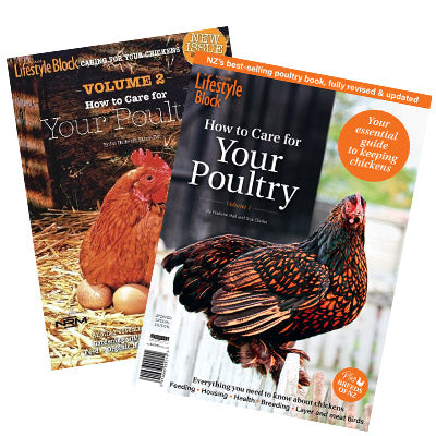 Chicken bundle: How to Care for Your Poultry Vol 1 and 2