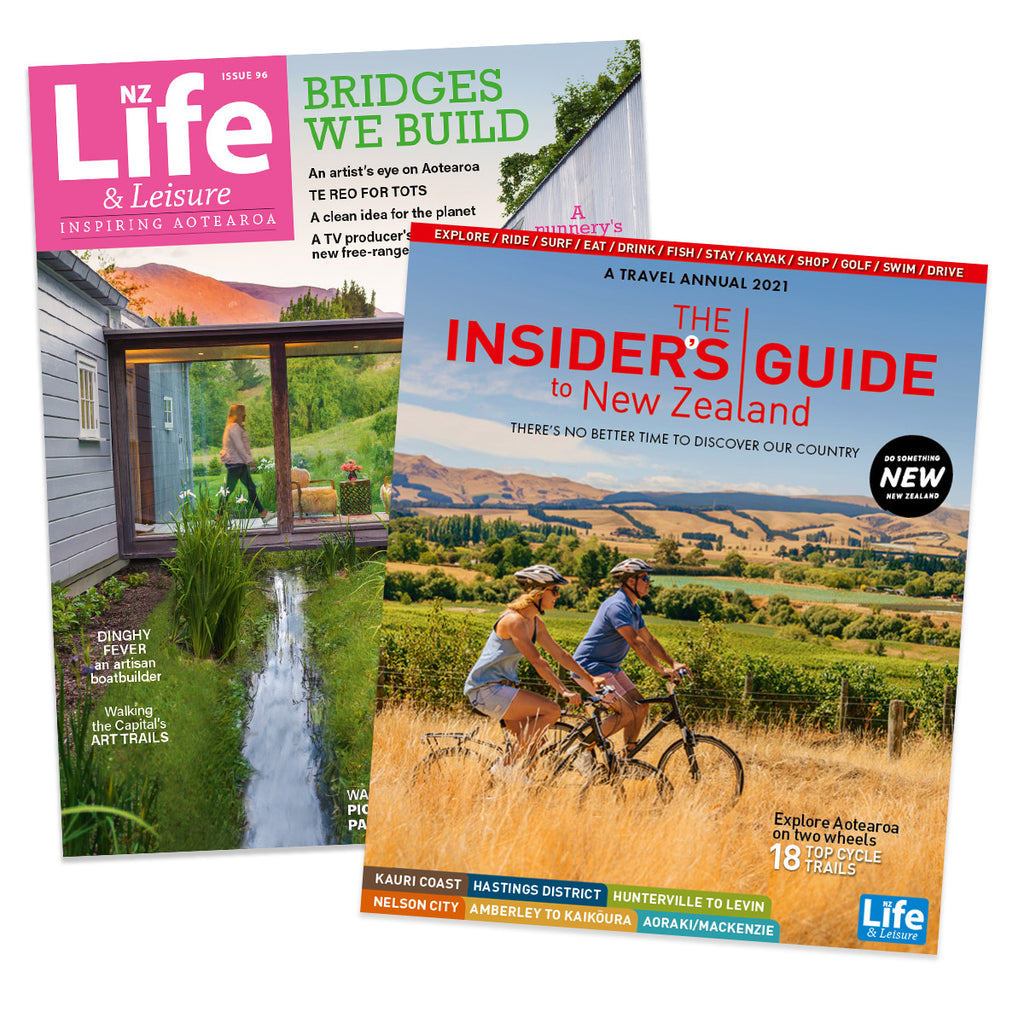 1 Year of NZ Life & Leisure plus The Insiders Guide to New Zealand 2021