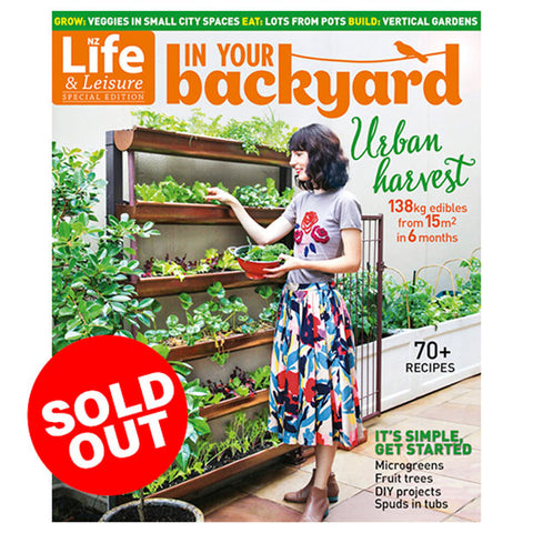 In Your Backyard: Urban Harvest