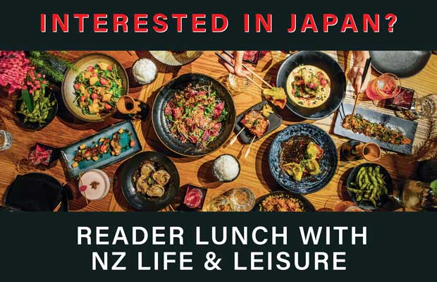 Wellington Reader Lunch with NZ Life & Leisure and Walk Japan