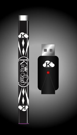 Glossy Black Variable Voltage Pen