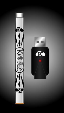 Glossy White Variable Voltage Pen