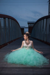 Offbeat Bridal Maxi Tutu