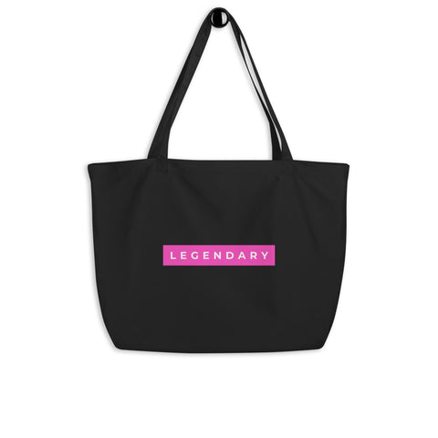 Legendary Large organic tote bag
