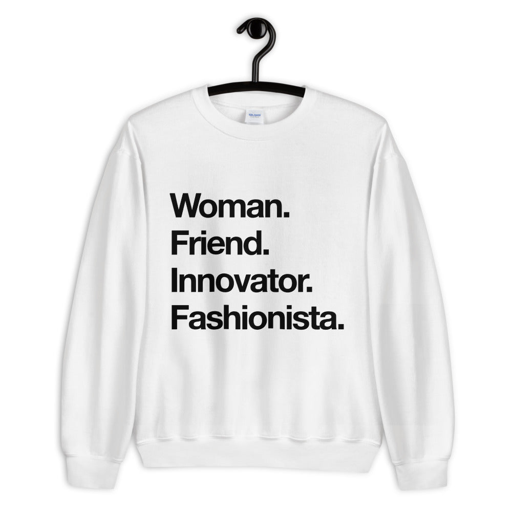 Women. Friend. Sweatshirt - Blondie Jones