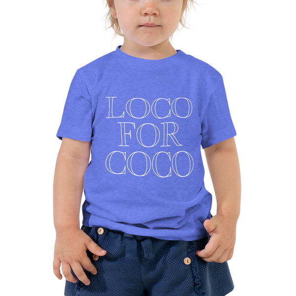 Loco for Coco Toddler Tee - Blondie Jones
