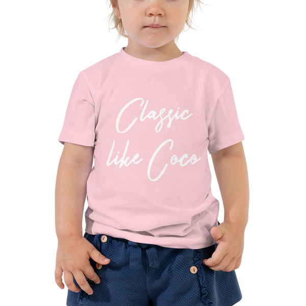 Classic like Coco Toddler Tee - Blondie Jones
