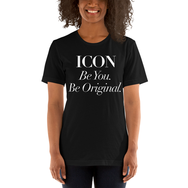 Icon. Tee Black - Blondie Jones