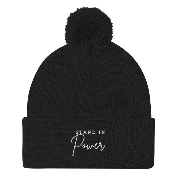 Stand in Power Pom-Pom Beanie