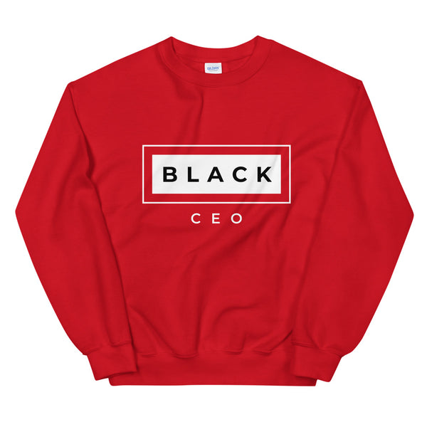 Black CEO Unisex Sweatshirt