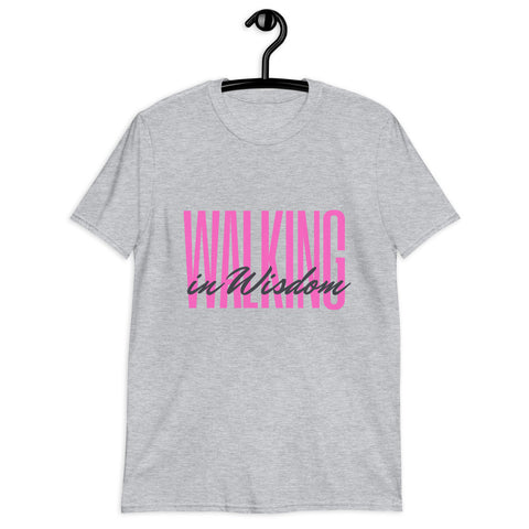Walking in Purpose Short-Sleeve Unisex T-Shirt