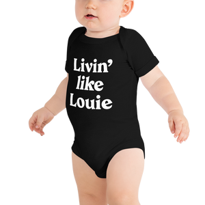 Livin' like Louie Onesie - Blondie Jones