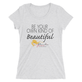 Blondie Jones Beautiful 201 triblend short sleeve t-shirt