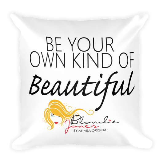 Blondie Jones Beautiful 201 Throw Pillow - Blondie Jones