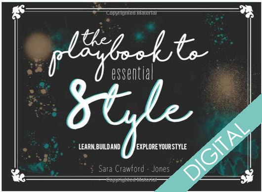 The Playbook to Essential Style: Learn, Build and Explore Your Style - Digital - Blondie Jones