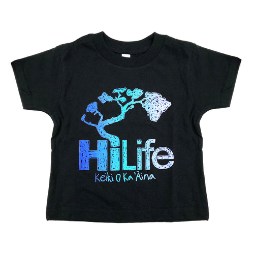 Crayon Blue Toddler Tee