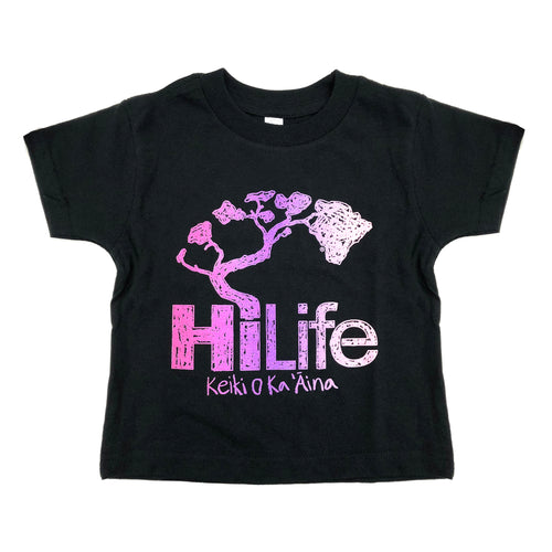 Crayon Purple Toddler Tee