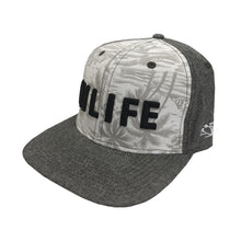 HILIFE logo Snapback hats Denim Brown Floral