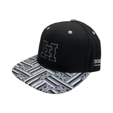 HI logo Snapback hats Hawaiian flag bill