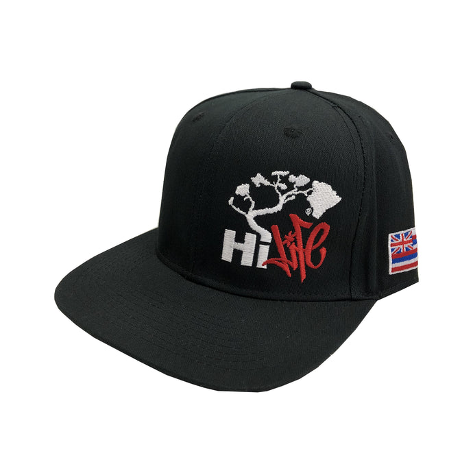 Hapa Snapback hats Black