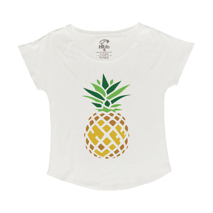Woman's Dolman Pineapple