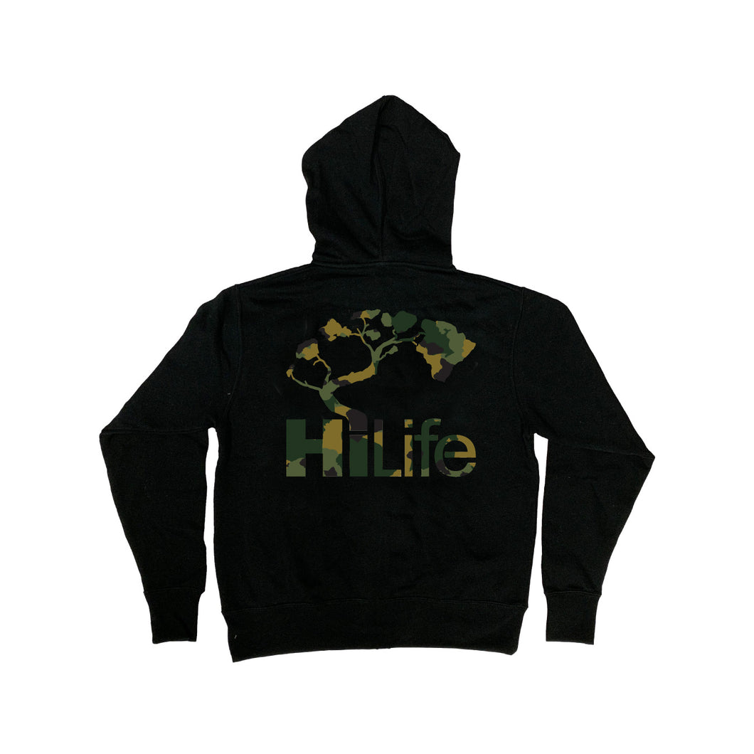 Unisex Pullover Hoodie  Army Camo