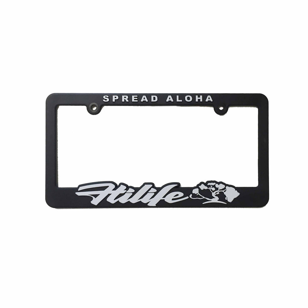 License Plate Frame Spread Aloha