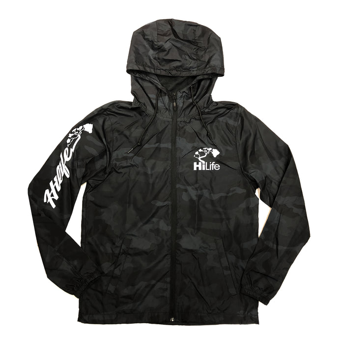 Windbreaker Script Logo on sleeve
