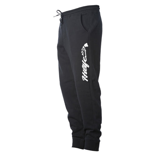 Fleece Pants Script Logo